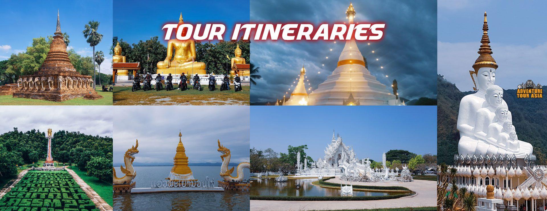 Tour Iteneraries 1