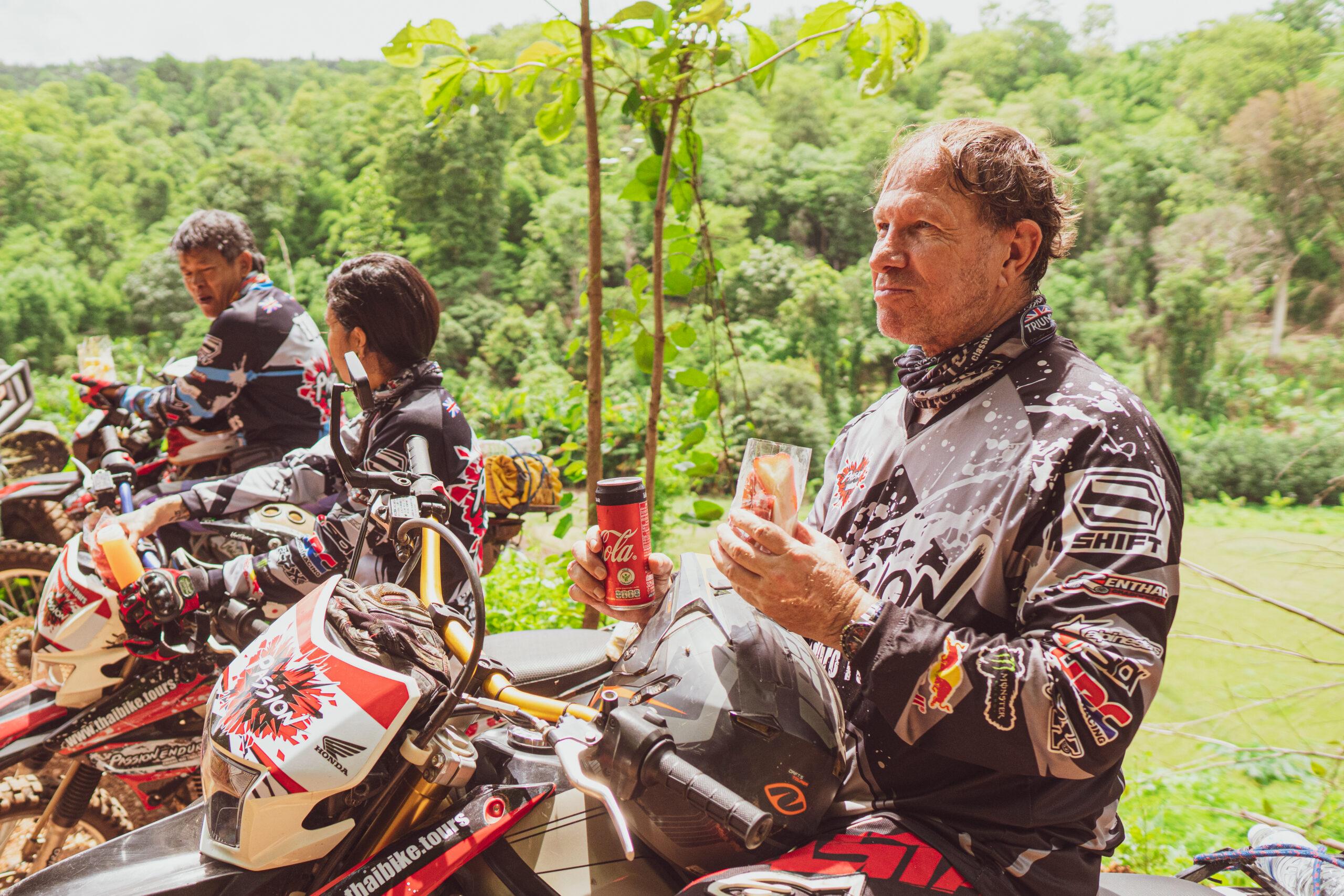 on tour eating thai bike tours 0304