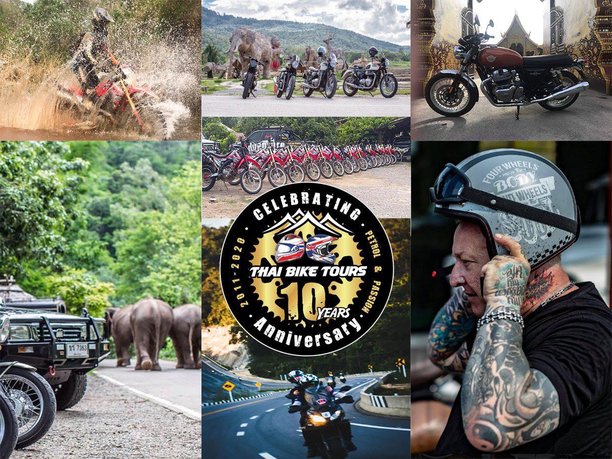 Thai Bike Tours Collage